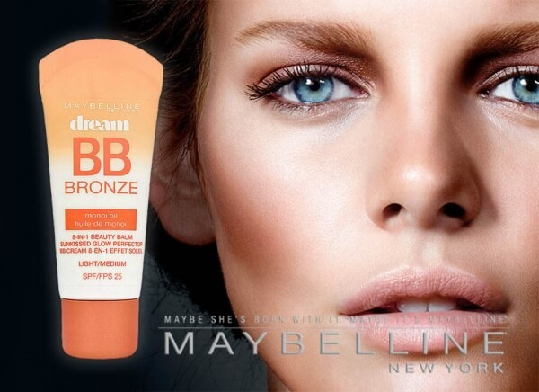 کرم بی بی 8 کاره MAYBELLINE dream BB BRONZE