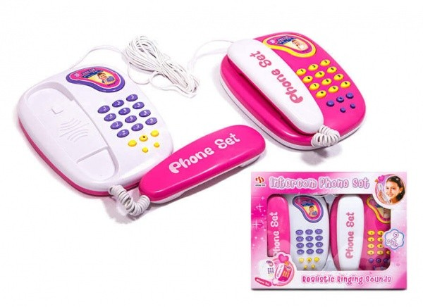تلفن اسباب بازی JUFENG TOYS Intercome phone set