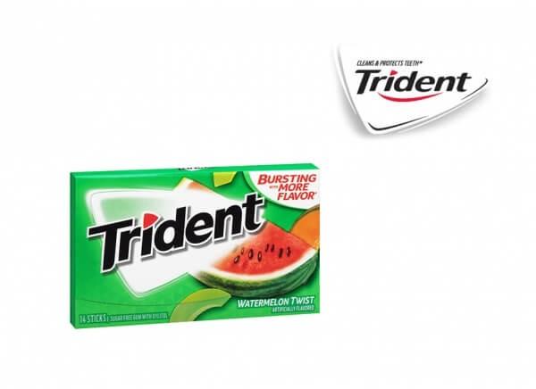 آدامس تریدنت هندوانه طالبی Trident