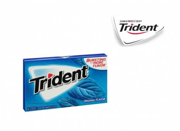 آدامس تریدنت طعم اورجینال Trident