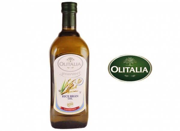 روغن سبوس برنج اولیتالیا 1 لیتری OLITALIA RICE BRAN OIL