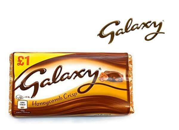 شکلات گلکسی GALAXY مدل عسلی