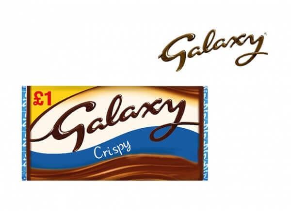 شکلات گلکسی GALAXY مدل کریسپی