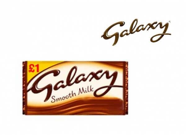 شکلات گلکسی GALAXY مدل شیری