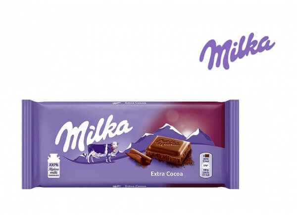 شکلات میلکا اکسترا milka EXTRA COCOA