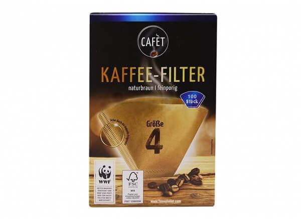 فیلتر کاغذی قهوه کافت CAFET