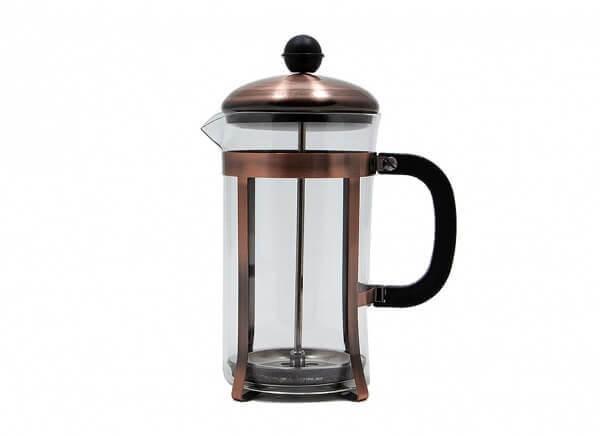 قهوه ساز فرنچ پرس YITIAN رنگ مسی حجم 600 میلی لیتر