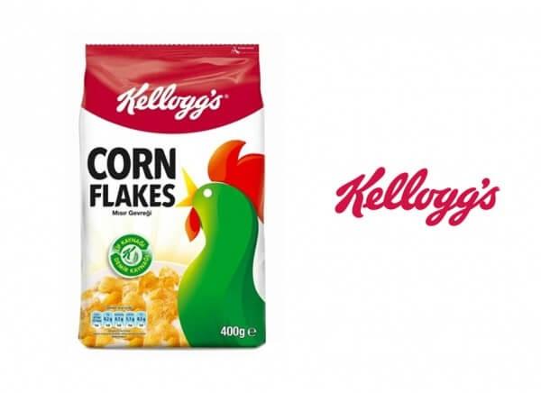 کورن فلکس ذرت خروسی کلوگز حجم 400 گرم Kelloggs cornflakes