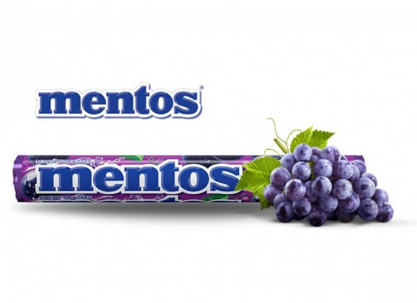 Mentos Grape Chewy Candy