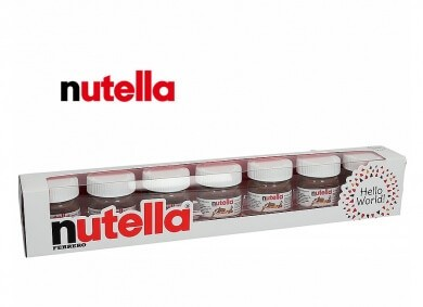Nutella World 7×25g