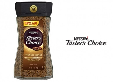 NESCAFE TASTER'S CHOICE French Roast
