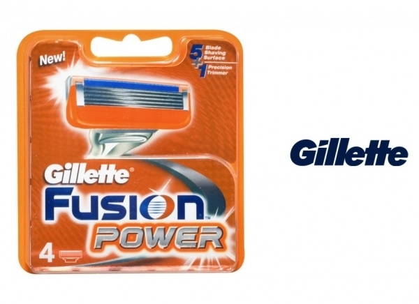 Gillette Fusion Power Blades Pack Of 4