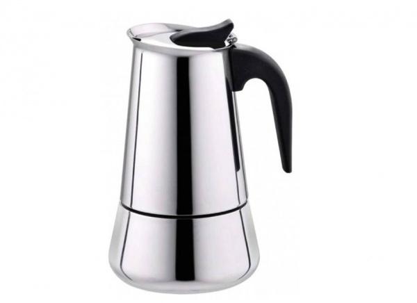 قهوه جوش موکاپات استیل 2 کاپ