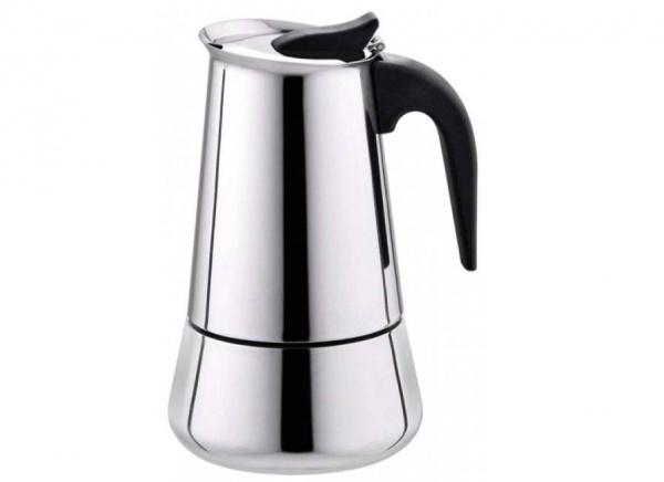 قهوه جوش موکاپات استیل 4 کاپ
