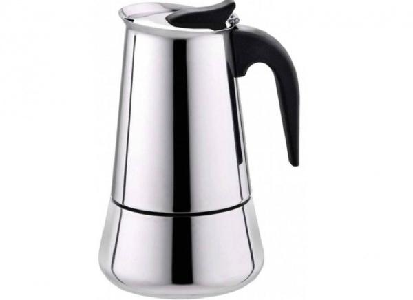 قهوه جوش موکاپات استیل 6 کاپ