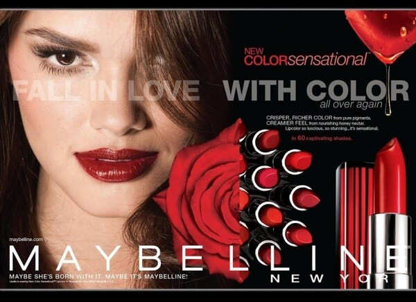رژ لب MAYBELLINE مدل COLOR SENSATIONAL